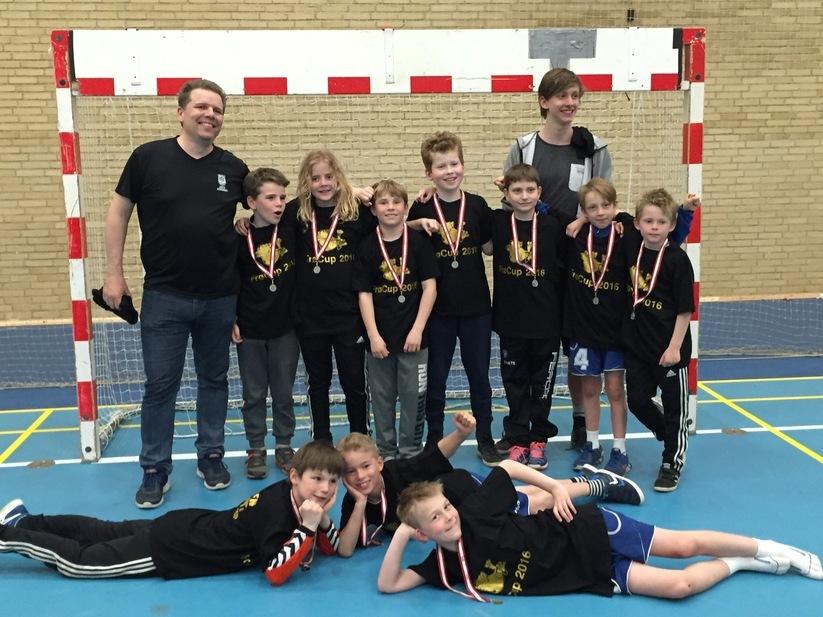 U10 drenge vinder sølv 2016